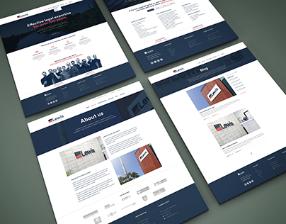 Lewis Law Rebrand and Website