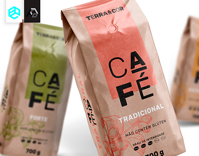 Terra&Cor - Brand Identity and Packing