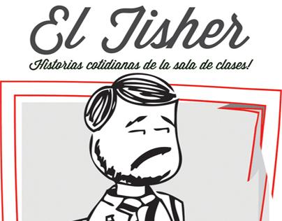 "Diseño webcomic ""El Tisher"""