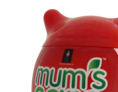 Mum's Care - Baby cereal food packaging