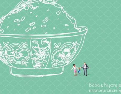Baba & Nyonya postcard
