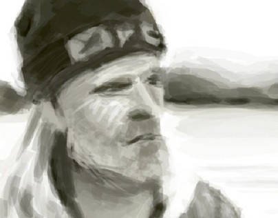 Old man tonal study
