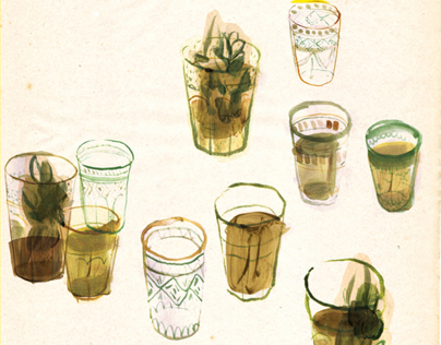 Ethno-Food Illustrated Essays