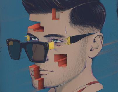 i-Transform illustration poster