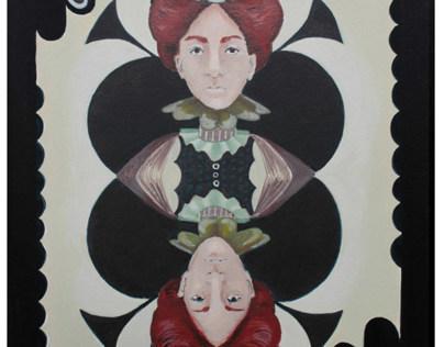 Acryllic Painting: Card Design