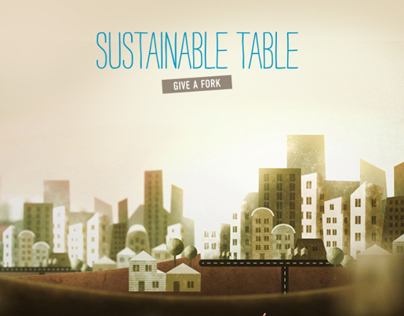 Sustainable Table - Give a Fork!
