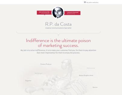 webdesign rpdacosta.com