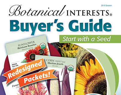 Botanical Interests 2019 Season Buyer's Guide