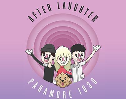 Paramore's After Laughter Album in 1950's Cartoon