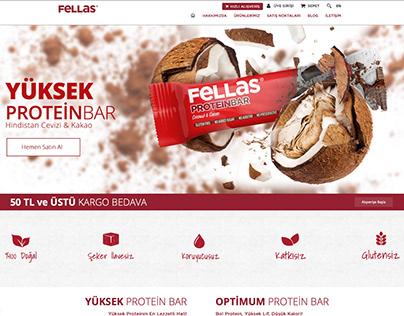 Fellas Foods Website Re-Design