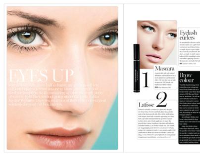 beauty editorial design