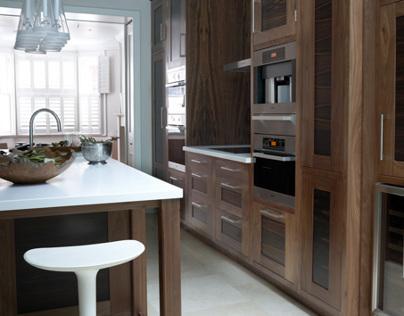 London basement kitchen