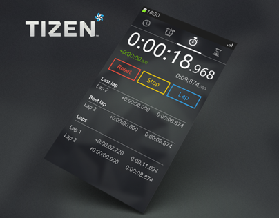 Clock App for Tizen OS