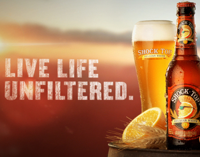 """Shock Top """"Live Life Unfiltered"""""""