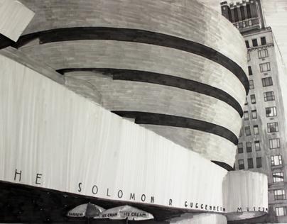 Drawing Guggenheim