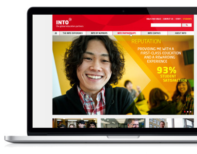 INTO web and intranet