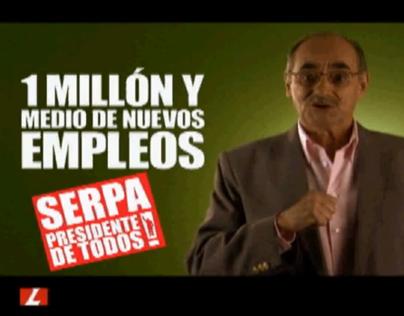 Serpa / Presidente de todos (campaña)