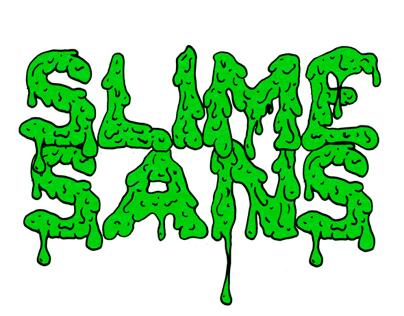 Slime Sans Typeface