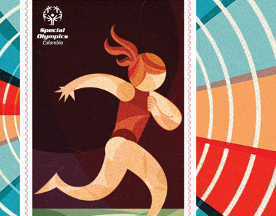 Special Olympics Stamp & Card