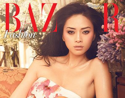 Harper's Bazaar Vietnam,  July 2012: Ngoh Thanh Van