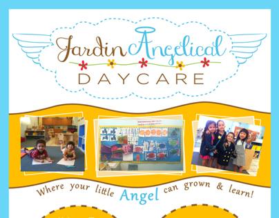 Jardin Angelical Daycare Flyer