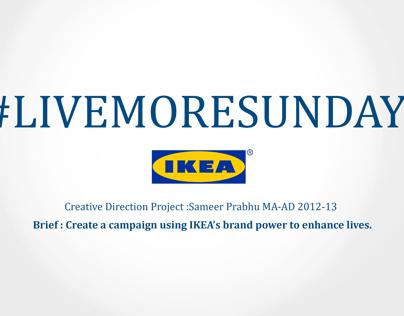 Ikea - #LIVEMORESUNDAY