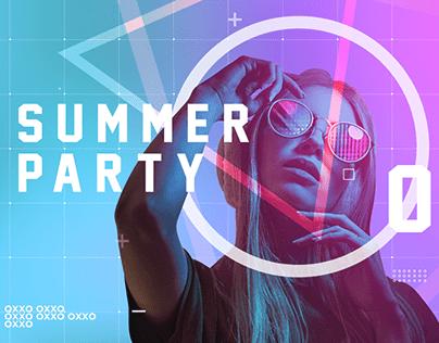 OXXO Motion Design DJ Summer Party