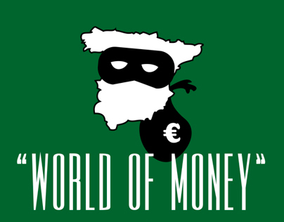 WORLD OF MONEY // Exposición ilustraciones