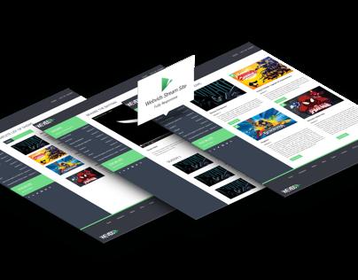 Wevids - Responsive Stream Site