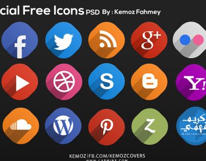 28 Free Social Media Icons