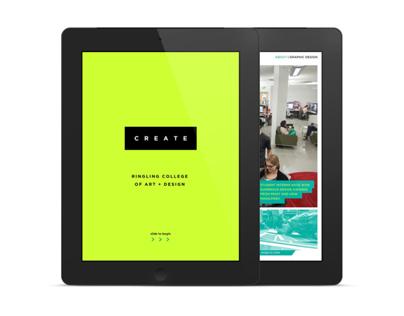 Ringling College Admissions iPad Catalog 2014