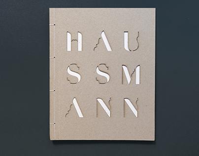 Haussmann Typographie