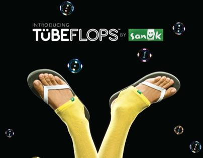 TUBEFLOPS By Sanuk