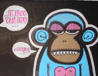 Cardboard Monkeys
