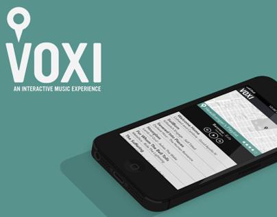 Voxi App UI/UX design