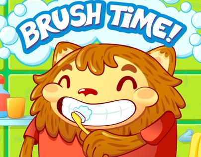 Brush teeth with Momo - App
