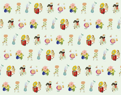 Flowerland_PatternDesign