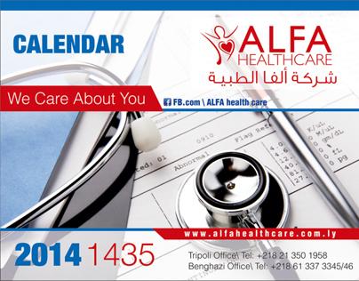 ALFA Health Care Calendar 2014