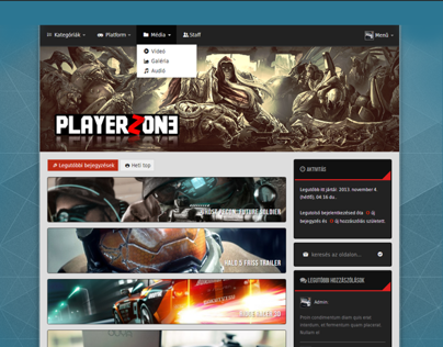 Playerzone - Gamer blog