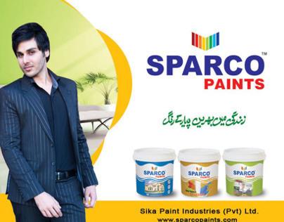sparco paint