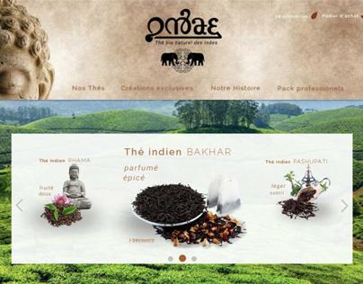 WEB SITE for biologic tea