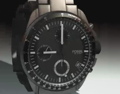 Fossil- Watch 3d Modeling