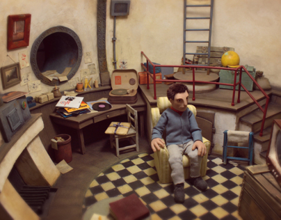 scenography for puppet animation