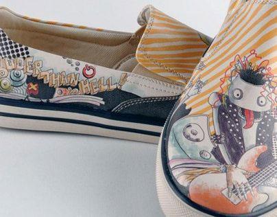 Shoe and Bag Design