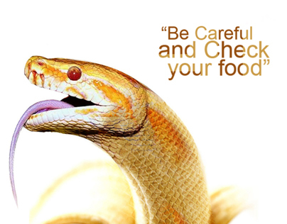 Be Careful and check your food