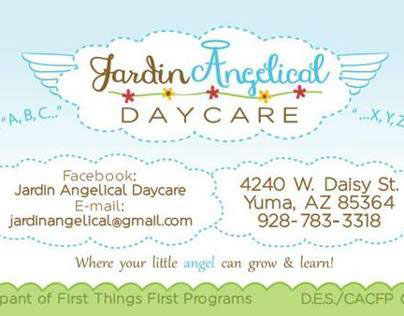 Jardin Angelical Business Cards