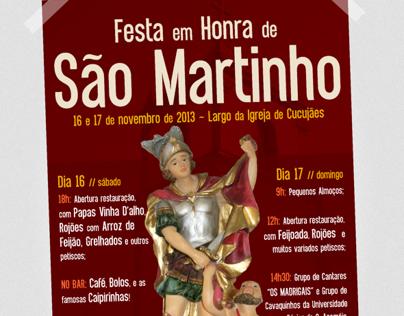 Festa de São Martinho 2013 - Poster Design