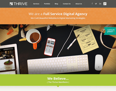 Thrive Internet Marketing Redesign