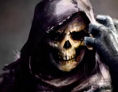 Concept Skeletor - He-man