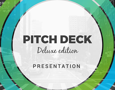 Intense Pitch Deck Powerpoint Template on Behance